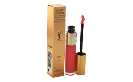 Gloss Volupte - Rose Jersey by Yves Saint Laurent for Women - 0.2 oz 5bdb7bfc-04f3-45b4-bc72-25d98c75b99d