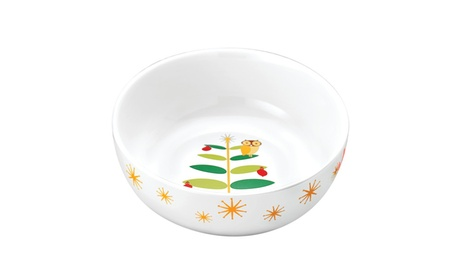 Rachael Ray Holiday Hoot 10in. Serving Bowl 28b4985d-c971-4fee-80aa-3d39e4ac25b6
