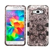 Insten Four Leaf Silicone Case For Galaxy Grand Prime Rose Gold