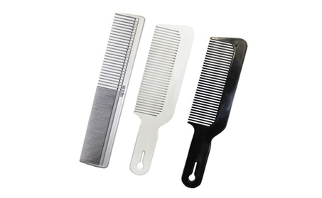 Barber & Stylist Clipper Hair Comb Brush