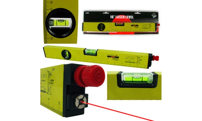Construction Laser Level - 16 inch