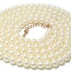 Simulated Round Pearl Multilayer Necklace for Women