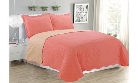 american linens assorted reversible bed quilts sets with 2 pillow shams 6 colors 91050a31-1553-4f6b-aca5-92421ec7267e