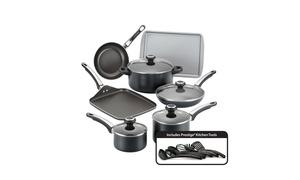 Farberware High-Performance Nonstick Aluminum Cookware Set (17-Piece)