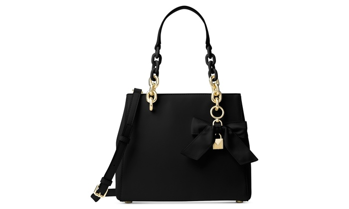 1243ad12b839 Michael Kors Cynthia Small Convertible Satchel - Black