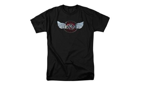 REO Speedwagon - Rendered Logo -Adult T-Shirt b018349b-97d6-4095-9208-ed8f8a777982