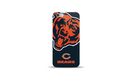 iPhone 6/6S NFL Oversized Logo TPU Gel Cases With Free Tempered Glass 9045c623-f3fd-4963-ba6c-c902aec73784