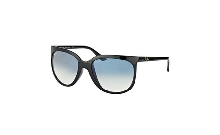 Ray Ban Sunglasses Cats 1000 RB4126 601/3F 57MM Shiny Black Frame Blue 5c772d3d-a0ff-4998-a6b4-a9577ec3d606