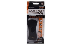 Copper Fit Compression Knee Sleeve XXL- Unisex