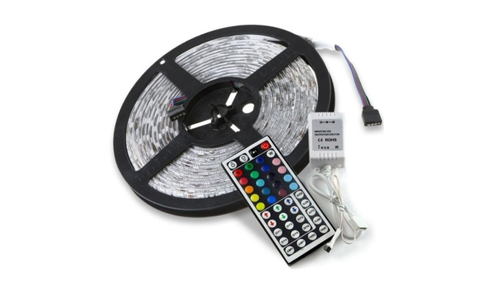 Lamp+44 key IR+12V 2A Power Supply 300 Led SMD Flexible Light Strip