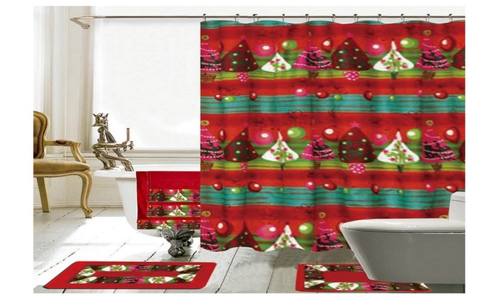 22% off on christmas bathroom decor 18 p | groupon goods