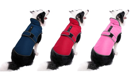 Waterproof Windproof Clothes Winter Warm Pet Dog For Each Size Dog Coat Jacket