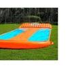 Fun Splash Inflatable Water Slide Triple Pool Kids Park Backyard Play