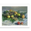 Claude Monet 'Still Life with Pears' Canvas Rolled Art