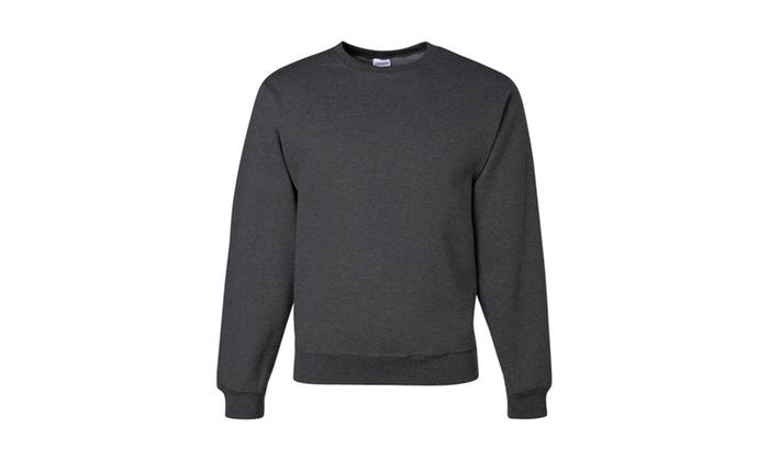 Jerzees Mens Crew Neck Sweatshirt,  562MR-1