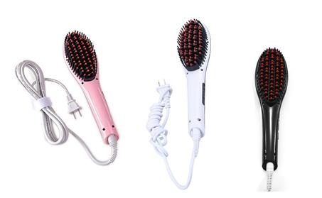 Hair Straightener Comb Electric LCD Auto Temperature Control Brush 189e0e50-83ab-424a-8cdc-30e80a2ad9d7