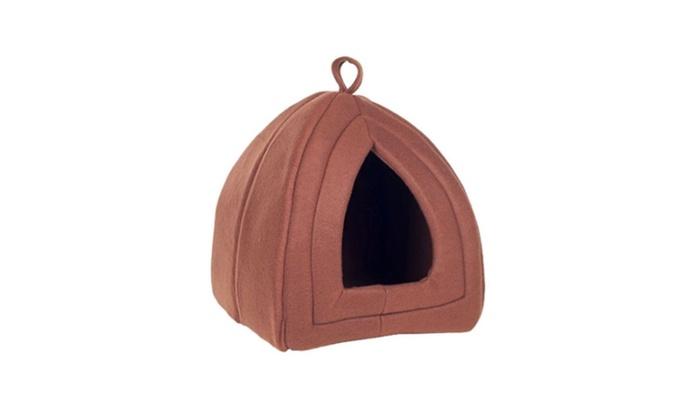 Cozy Kitty Tent Igloo Plush Pet Maker Enclosed  sc 1 st  Groupon & Cozy Kitty Tent Igloo Plush Pet Maker Enclosed | Groupon