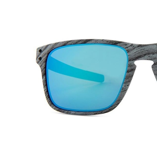 ad4d7a847a7be Oakley Holbrook Mix Frostwood Sunglasses OO9384-12 57 Prizm Sapphire Lens
