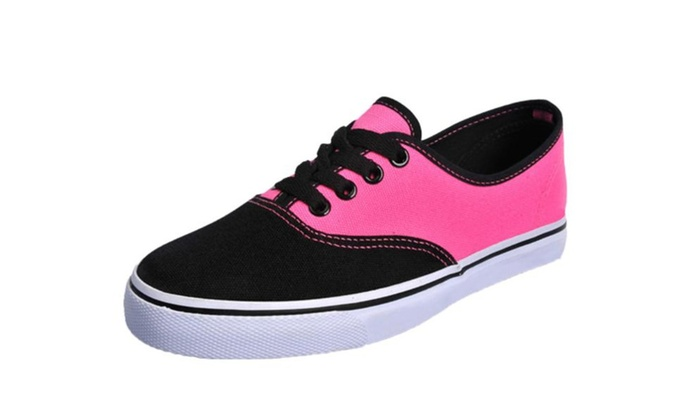 Women's Casual Solid Canvas Shoes