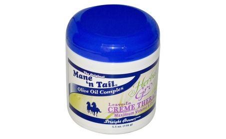 Mane'n Tail Creme Therapy Herbal Gro 5.5 Oz / 156g a88b74c7-c018-4293-9fbc-c3ea9847e399
