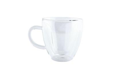 240ml Heart Double Wall Clear Transparent Glass Tea mug ec2b2fcd-4856-4479-8816-583f8199a85a