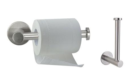 Toilet Paper Holder Bathroom Square Tissue Holder Paper Roll Dispenser