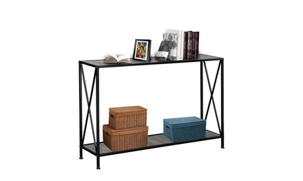 2 Layers Forked Console Table