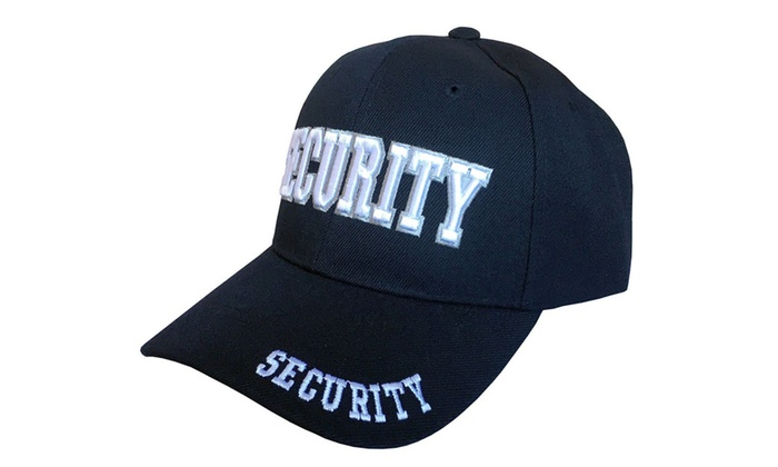 Security, Law Enforcement Headwear, 3D Embroidered Baseball Cap
