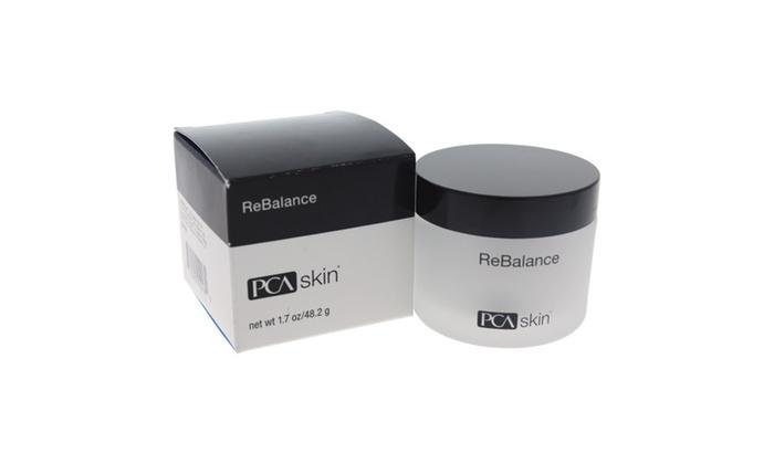 PCA SKIN ReBalance Facial Cream, 1.7 fl. Oz Mini Diamond Microdermabrasion Dermabrasion Facial Peel Vacuum Spray Machine