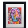 Dean Russo '28' Matted Black Framed Art