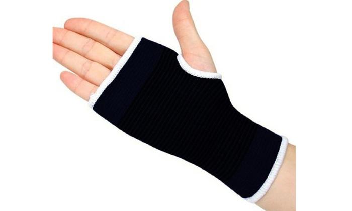 Palm Wrist Hand Support Glove Elastic Bandage Brace Sleeve Wrap