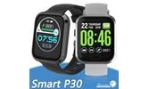 P30 Smart Watch Heart Rate Blood Pressure Sleep Monitoring 1.3 In Color Screen