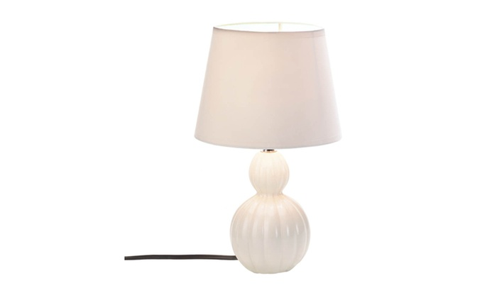Koehler home decor charlotte table lamp groupon for Koehler home decor
