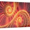 SunDance Large Digital Metal Wall Art 28x12