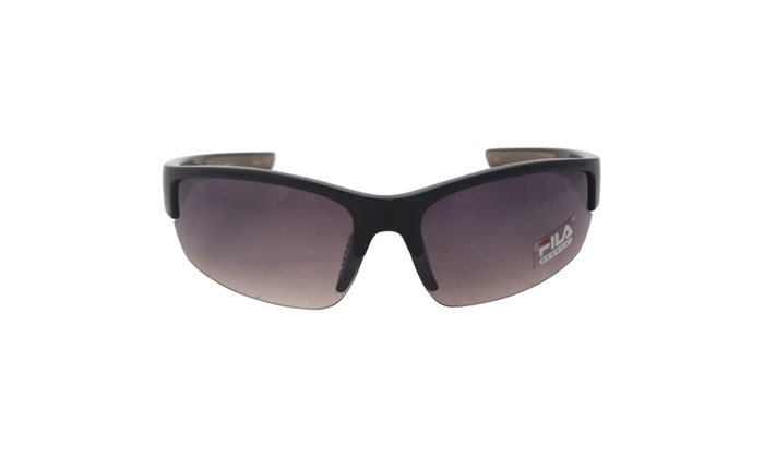 Fila SF 215 C1 - Black by Fila for Men - 139-0-133 mm Sunglasses