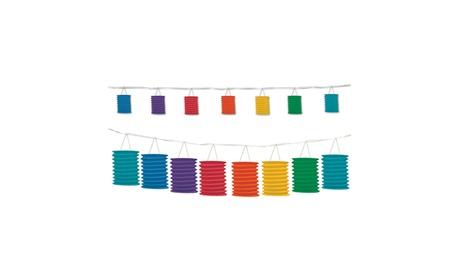 Rainbow Lantern Garland 12' - 6 Pack (1/Pkg) 170695cc-29a9-46ab-8fe9-fe338440137f