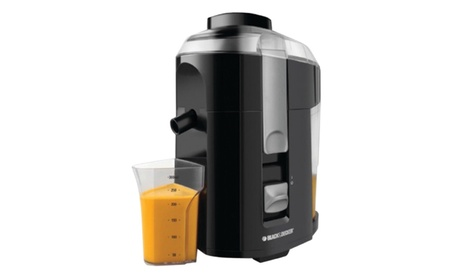 New Black & Decker Fruit & Vegetable Extractor with Custom Juice Cup 24386f38-3045-46c6-9b71-8f1e228baccb