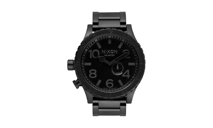 5fd3c866066 Nixon Men s  51-30  Tide Subdial All Black Watch