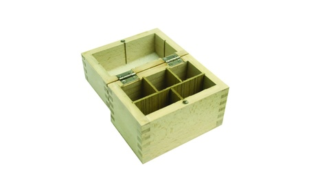 MW-MM Jewelry Supplies Wooden Storage Acid Box 5 space b8088174-317e-4b58-9fbc-e6475b5cdc15