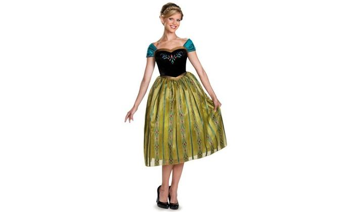 Frozen: Anna Coronation Adult Deluxe Costume