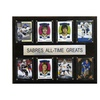 """NHL 12""""x15"""" Buffalo Sabres All-Time Greats Plaque"""