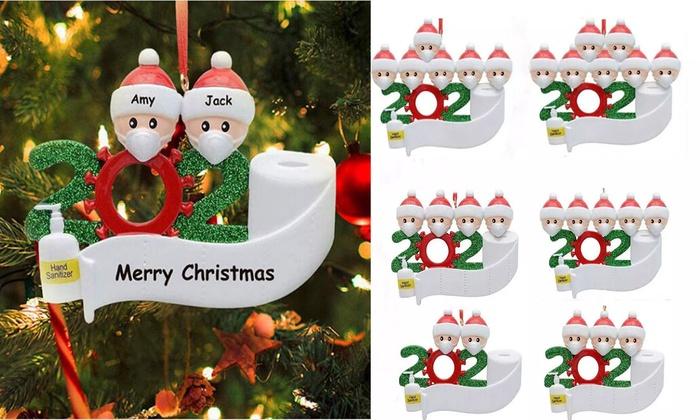 2020 Christmas Xmas Hanging Ornament Family Ornaments Decor