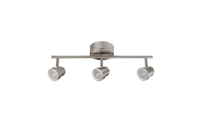 Globe Electric 216845 3 Light Led Integrated Track Lighting Bar