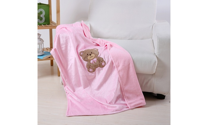 Up To 79% Off on Luxury Home Baby Blanket   Groupon Goods