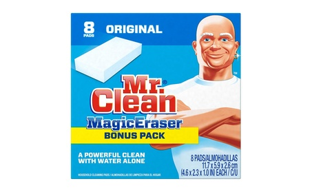 Mr. Clean Magic Eraser Cleaning Pads, 8-Count Box 81f23ccc-e34a-4f6c-a078-6ea8a4db6931