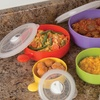 Evelots Set of 5 Deluxe Microwave And Freezer Bowls