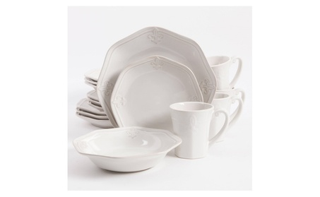 Better Homes & Gardens Country Crest 16-Piece Dinnerware Set