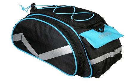 Cycling Bicycle Bike Seat Bag Rear Tail Trunk Rack Pannier Handbag 74f64010-9f28-456d-88bc-89a2feecb356
