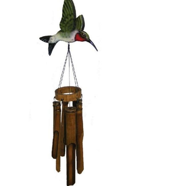 Cohasset Imports Flat Hummingbird Wind Chime CH187H