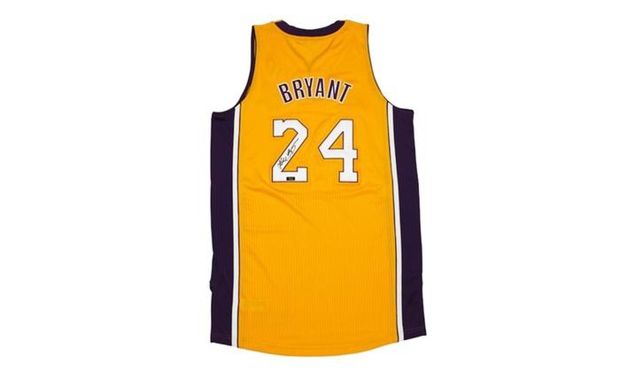 546bdfd9fde Kobe Bryant Autographed Jersey